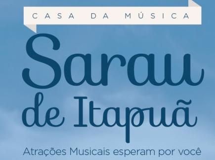 Hoje é dia de Sarau de Itapuã