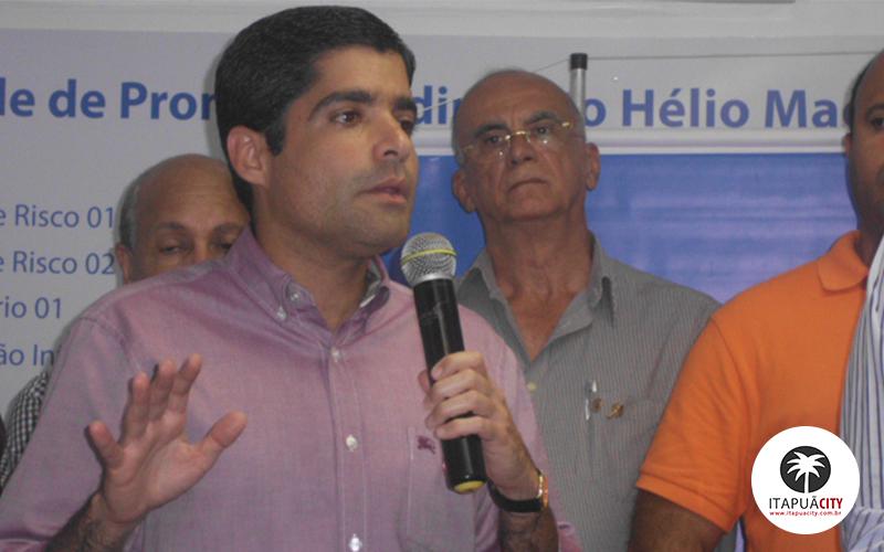 ACM Neto destaca ações em Itapuã durante inauguração de UPA
