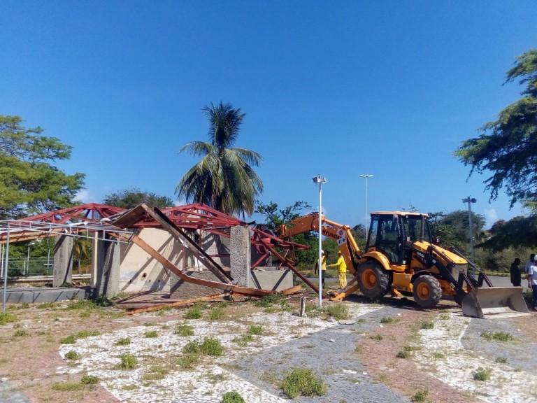 Parque Metropolitano do Abaeté começa a receber obras de requalificação