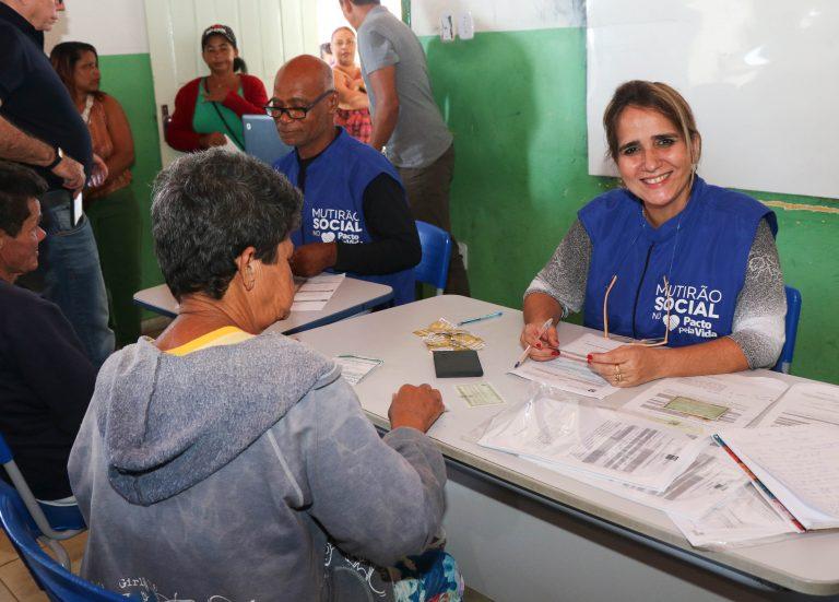 Itapuã recebe Mutirão Social Pacto Pela Vida