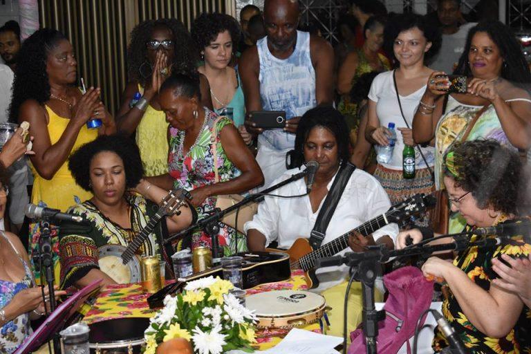 II Roda de Samba das Mulheres em Itapuã acontece nesse sábado (9)