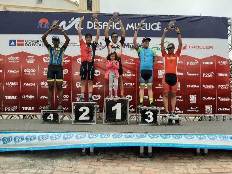 Atletas de Itapuã vão para o pódio em desafio de Mountain Bike