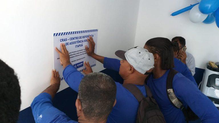 Após reforma, CRAS de Itapuã é reinaugurado