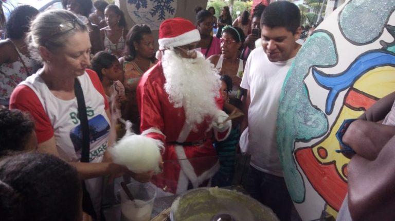 Natal Solidário leva famílias para o Parque Metropolitano do Abaeté