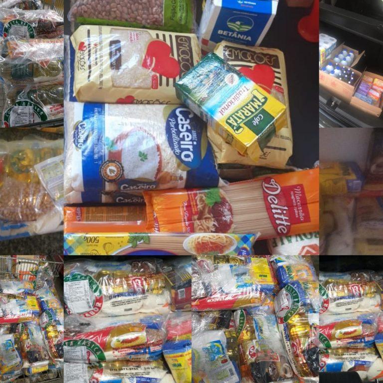 Campanha solidária do ITAPUÃCITY arrecada mais de 200kg de alimentos em uma semana e ajuda famílias