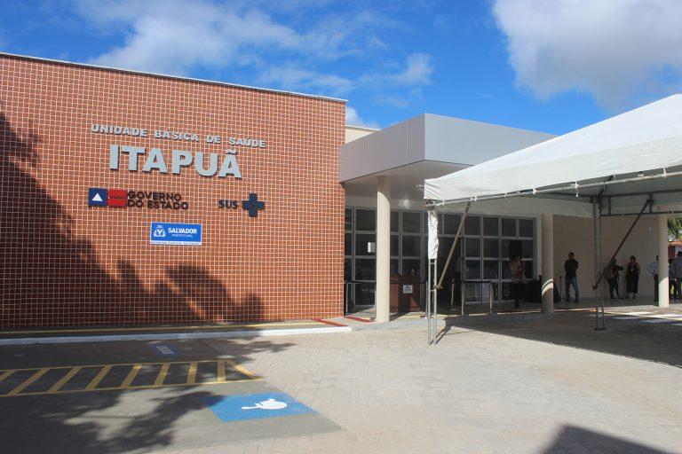 Nova Unidade Básica de Saúde de Itapuã é entre à população