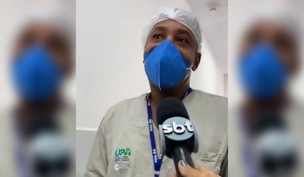 Primeiro Vacinado Contra Covid 19 Na Upa De Itapua Funcionario Da Depoimento Emocionante Confira